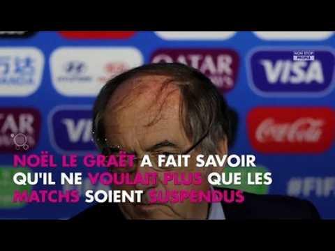 Homophobie dans les stades : Noël Le Graët choque avec ses propos