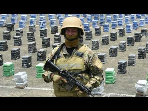 Police seize 1.7 tonnes of cocaine Panama