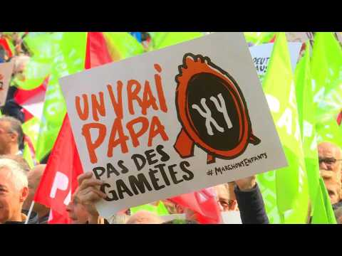 Thousands protest French IVF law for single women, lesbians