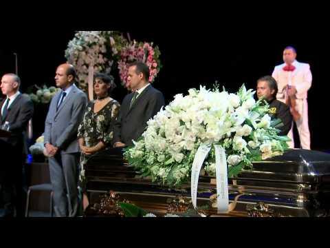 Mexican singer Jose Jose's public funeral underway in Miami