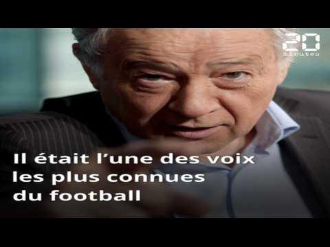 Le journaliste Eugène Saccomano, voix du football français, est décédé