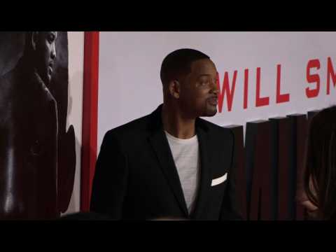 Will Smith hits red carpet for 'Gemini Man'