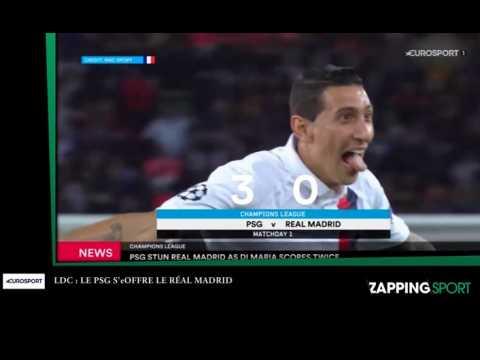 Zap sport du 19 septembre : Le PSG s'offre le Real Madrid (vidéo)