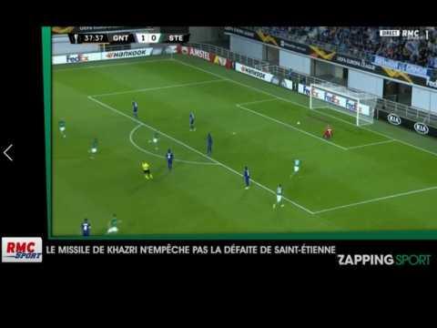 Zap sport du 20 septembre : Saint-Etienne battu sur le terrain de La Gantoise (vidéo)