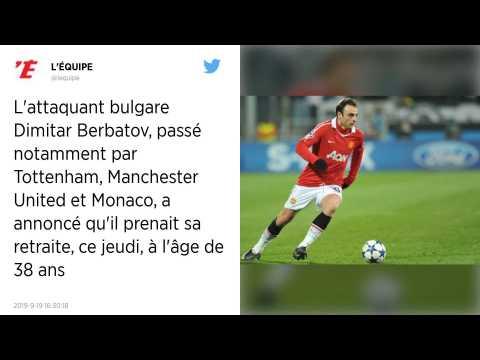Football : Passé par Manchester United et l'AS Monaco, Dimitar Berbatov prend sa retraite