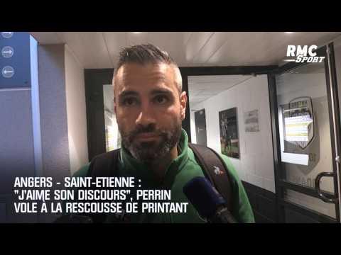 """Angers - Saint-Etienne : """"J'aime son discours"""", Perrin vole à la rescousse de Printant"""