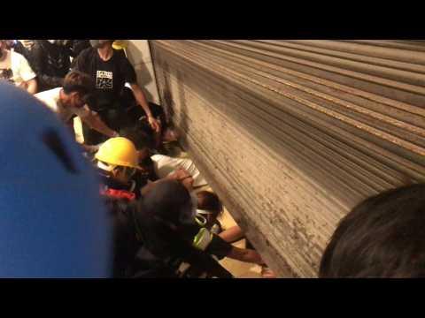Hong Kong clashes ahead of China's 70th anniversary