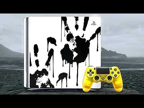 """DEATH STRANDING """"Limited Edition Console"""" Trailer (2019) PS4"""