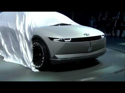 Hyundai 45 EV Concept reveal at 2019 IAA