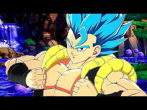 "DRAGON BALL FIGHTERZ ""Gogeta Blue"" Gameplay Trailer (2019) PS4 / Xbox One / PC"