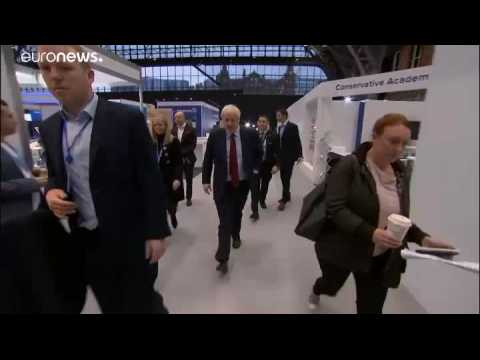 Boris Johnson's disposable coffee cup whisked away as aide tries to protect his green credentials