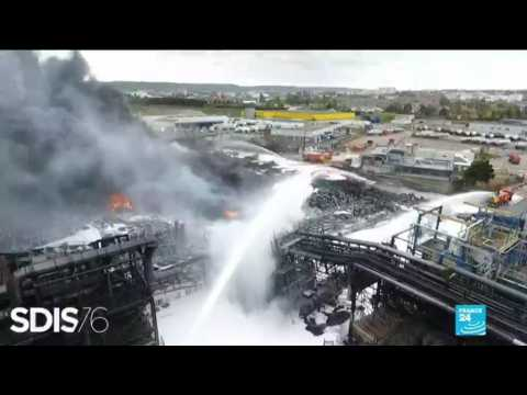 Rouen factory fire: environmental catastrophe or accident with little health risks?