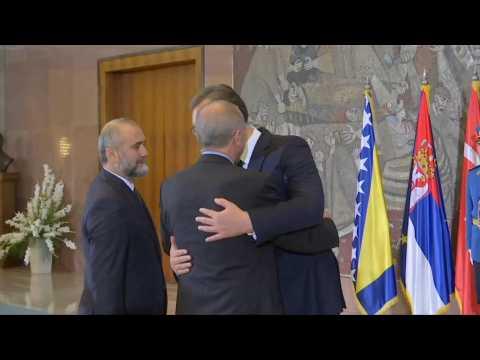 Turkey's Erdogan arrives in Belgrade for tri-lateral summit