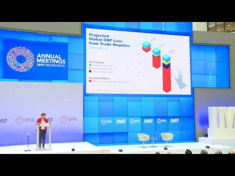 Trade wars could shrink global economy by $700 bn: IMF's Georgieva