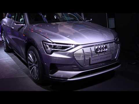 Audi e-tron 55 quattro at 2019 IAA
