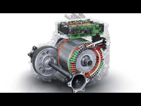 Audi e-tron cooling concept e-motor