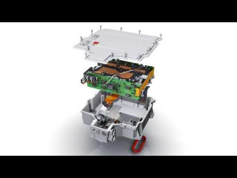 Audi e-tron Power electronics e-engine