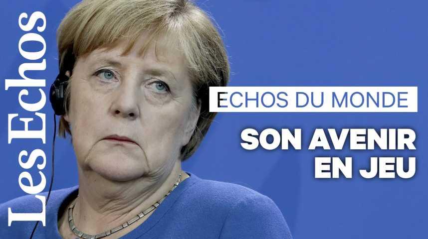 Illustration pour la vidéo Le climat au cœur de l'avenir politique d'Angela Merkel