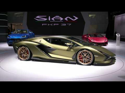 The new Lamborghini Sián FKP 37 – Exterior Design