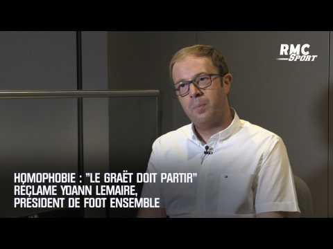 """Homophobie : """"Le Graët doit partir"""" réclame Yoann Lemaire, président de Foot Ensemble"""