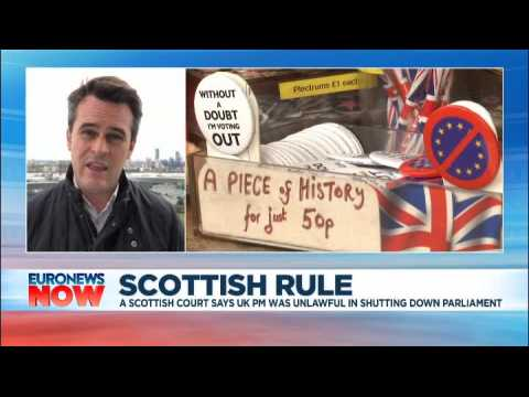 Boris Johnson's suspension of parliament is unlawful, a Scottish court rules