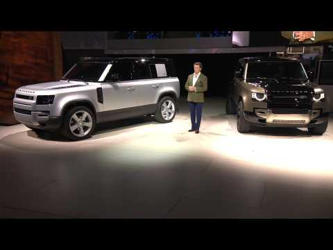 Land Rover Defender Reveal at IAA 2019