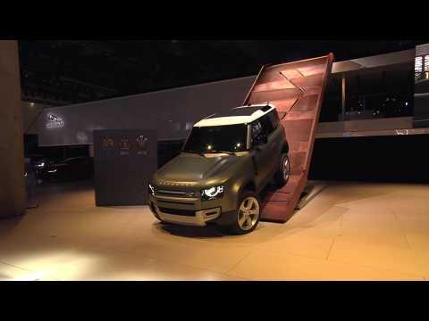 Land Rover Press Conference at IAA 2019