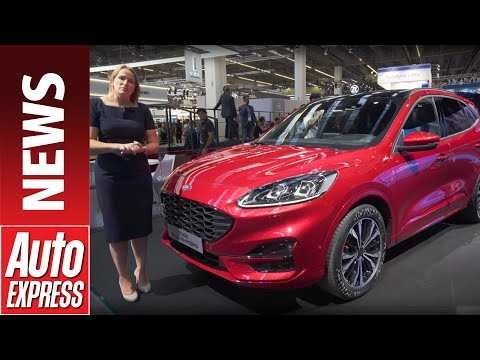 New 2020 Ford Kuga Hybrid - Ford showcases electric future with 235mpg Kuga PHEV
