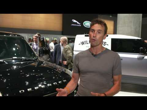 Land Rover at Frankfurt Motor Show 2019 - Kenton Cool, Mountaineer