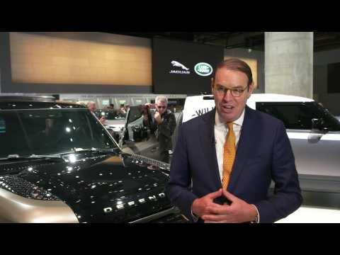 Land Rover at Frankfurt Motor Show 2019 - Hanno Kirner, Executive Director, Corporate & Strategy, Jaguar Land Rover
