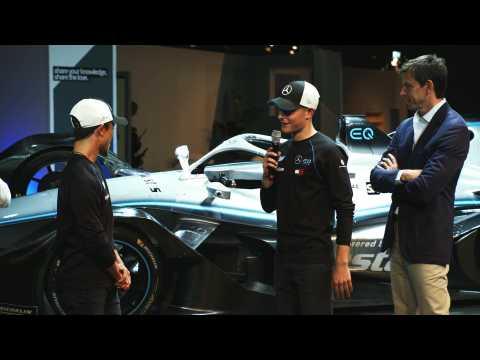 Presentation Formula E Team - Launch Formula E Car