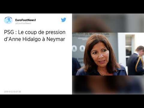 PSG : Quand Anne Hidalgo s'adresse à Neymar?: «?Maintenant mon garçon, va falloir que tu t'arraches?»