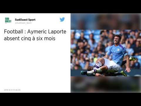 Manchester City?: Aymeric Laporte absent 5 à 6 mois selon Pep Guardiola