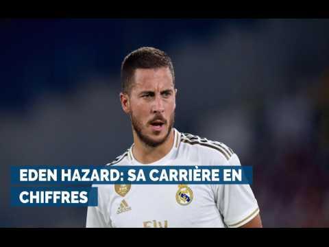 Eden Hazard, quelques chiffres sur sa carrière