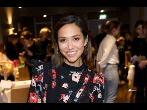 Myleene Klass reveals her daughters help out with the new baby,