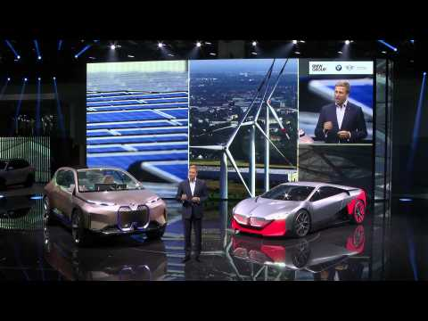 BMW Group Press Conference at the Frankfurt International Motor Show 2019