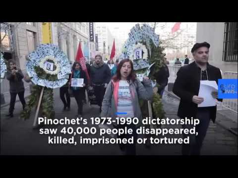 Watch: Coup continues to divide Chile on 46th anniversary