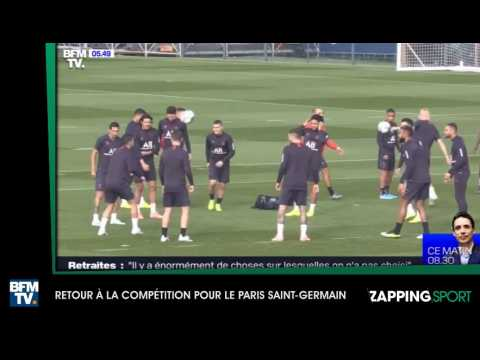 Zap sport du 18 octobre : Retour à la compétition pour le PSG (vidéo)