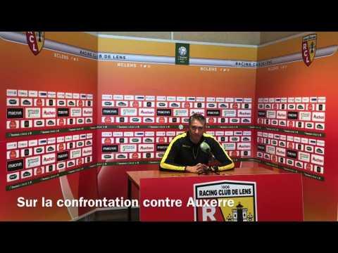 RC Lens: Philippe Montanier avant le match contre Auxerre