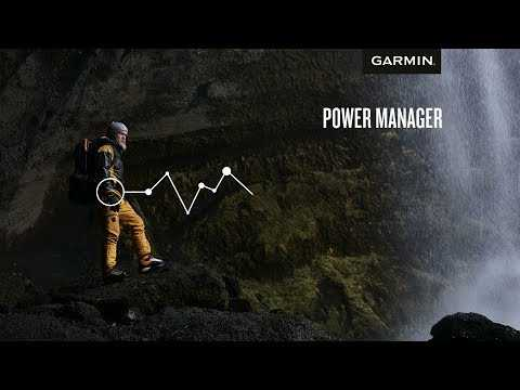 How to Use Power Manager on Garmin Devices to Extend Battery Life