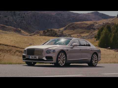 The new Bentley Flying Spur Extreme Silver Preview