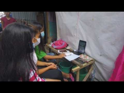 Philippines begins new school year with virtual classes amid pandemic