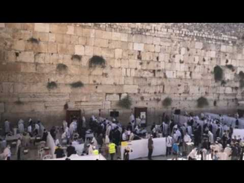 Jewish community in Jerusalem celebrates Sukkot