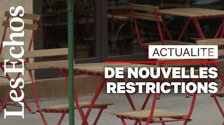 Illustration pour la vidéo A Paris, bars et restaurants inquiets pour leur activité