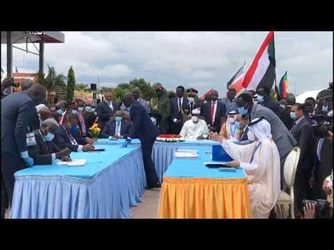 South Sudan, rebel groups ink historic peace deal