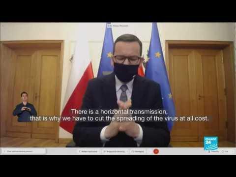 Coronavirus in Poland: PM announces partial lockdown amid virus spike