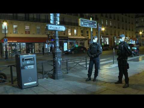 Paris police implement new Covid-19 curfew in the capital