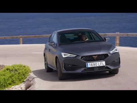 The new CUPRA Leon Hatchback Driving Video