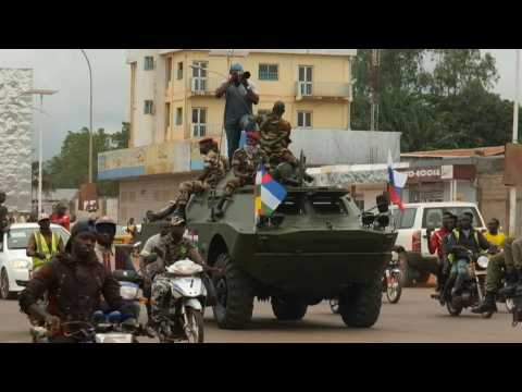 Central Africa receives Russian tanks in military cooperation