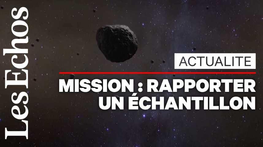 Illustration pour la vidéo La sonde américaine Osiris-Rex est entrée en contact avec un astéroïde